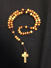 Load image into Gallery viewer, Olive Wood Rosary - CG33
