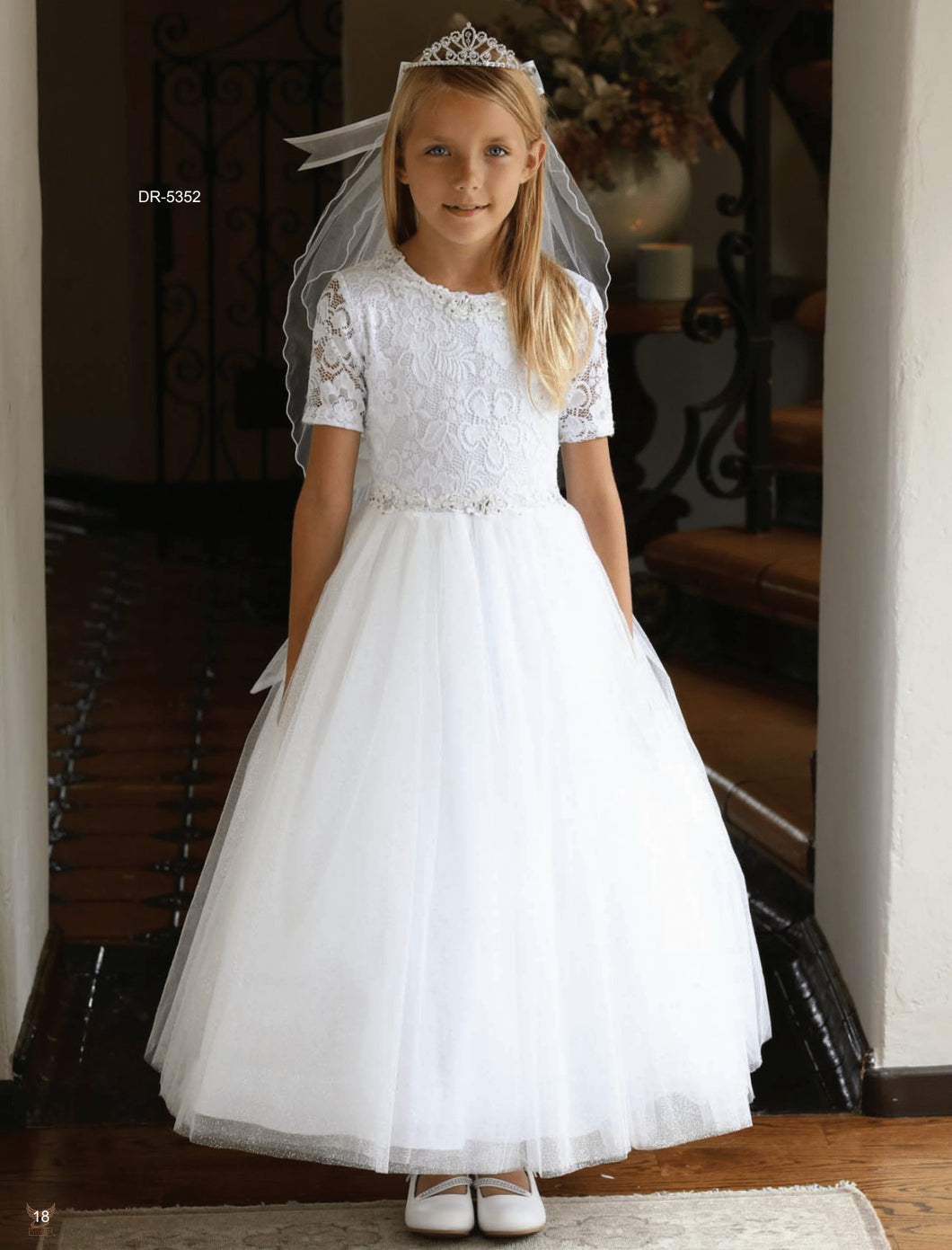 Girls Communion Dress