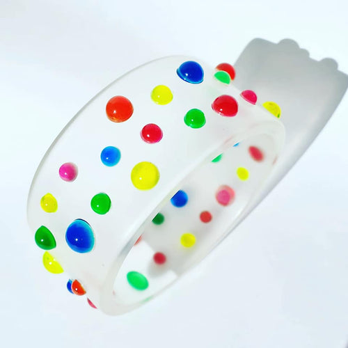Jelly Delight gum drop bangle