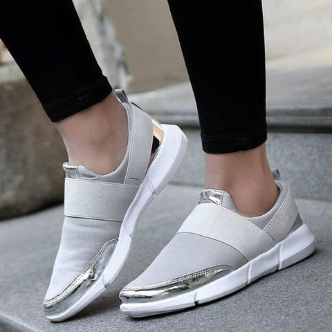 Women Sneakers Casual Shoes Retro Lady Flats Comfort Shoes