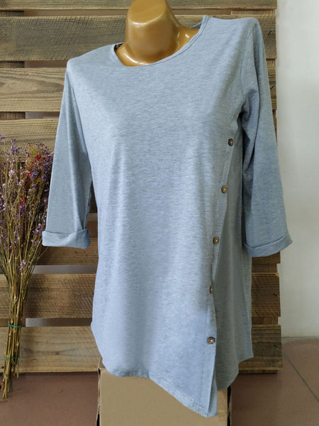 3/4 Sleeve Casual T-Shirt