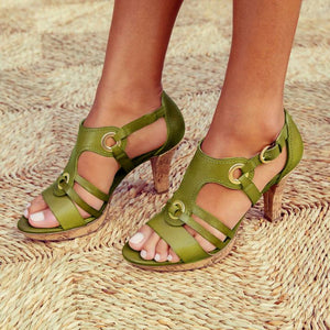 New Style Elegant Buckle Strap Sandals