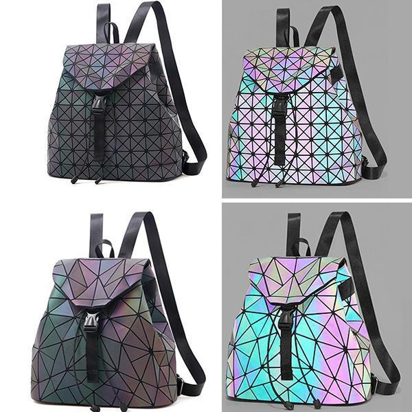 Top Reasons To Buy Eye-Catcher Reflective Drawstring Backpack Bag