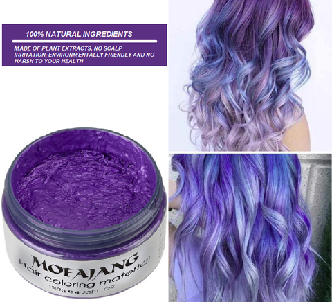 HAIR WAX COLOR CREAM