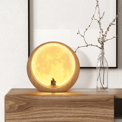 Led Love Moon Lunar Lamp