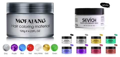 mofajung and sevich hair color wax