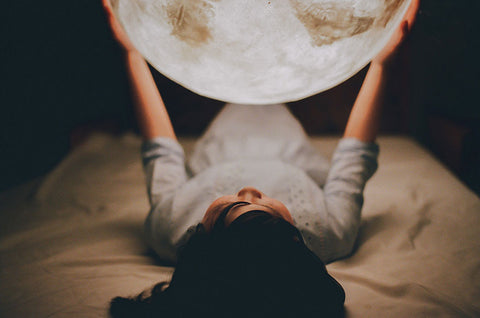 3D moon light lamp