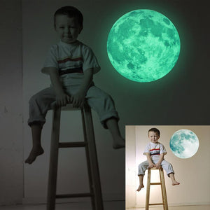 3D Moon Glow Wall Stickers | 3d Printing Moon Lights Lamp | Moon Lamo