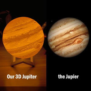 3d Printing Jupiter Moon Lamp | Mystical Moon | Customized Light Lamps