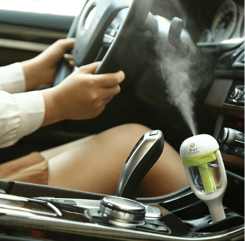 Tiny Aromatherapy Car Humidifier-Storefyi
