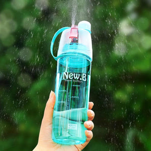 Splash Spray Reusable Water Bottle-Storefyi