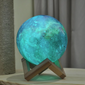 🌕 3D PRINT GALAXY MOON LAMP