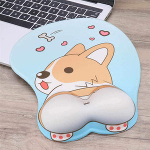 Lovely Corgi Butt Mouse Pad - Storefyi