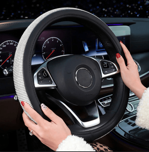 Swarovski Crystal Car Steering Wheel Cover