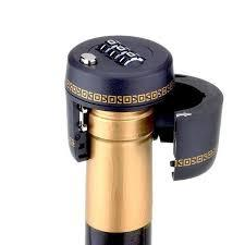 Wine Bottle Stopper vacuum plug Combination Lock