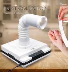 60W LKE Nail dust collector 4500rpm vacuum cleaner for manicures suction dust cleaner