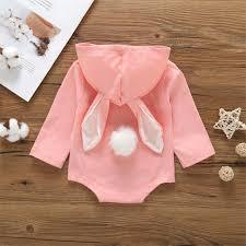 Cute Little Baby Rabbit Bunny Hooded Onesie Romper | Storefyi™