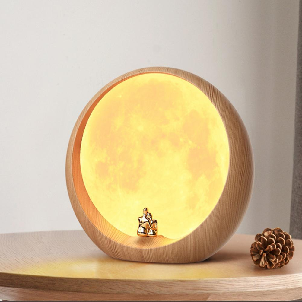 LED Moon Love Lamp | 3D Printing Moon Lamps | Customized Moon Lights