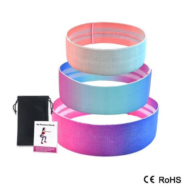 Hip Resistance Bands Set of 3