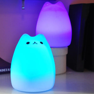 Cute Cat Lamp Night Light-Storefyi