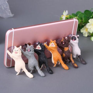 Happy Cat Mobile Holder For Samsung or iPhone-Storefyi