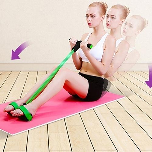 Portable Elastic Pull Rope Resistance Fitness Exercise Band