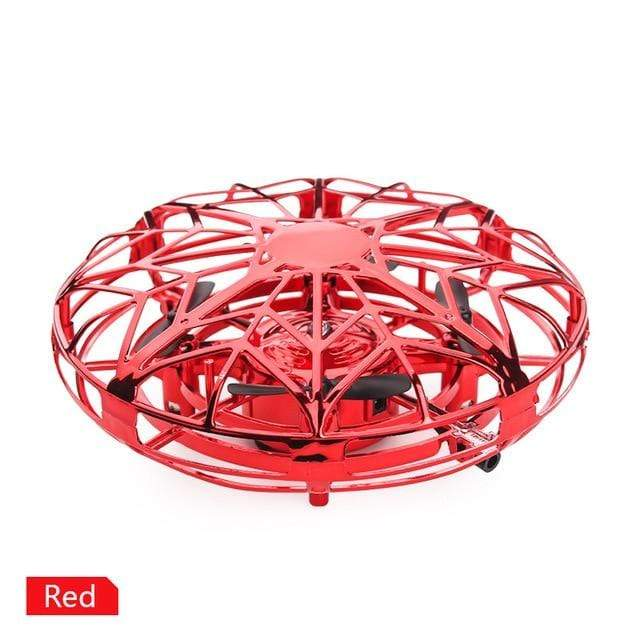 Anti-collision UFO Mini Drone Hand Flying Globe Quadcopter Hand Controlled Helicopter LED Induction Flying Ball Aircraft RC Toys-Storefyi
