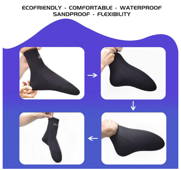 🤿 3MM Scuba Socks