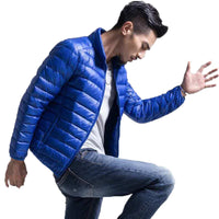 Mens Autumn Winter Duck Down Jacket