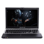 15.6inch Intel Core i7 CPU 8GB RAM+240GB SSD+750GB HDD Built-in WIFI Bluetooth DVD-ROM Windows 7/10 Laptop Notebook Computer