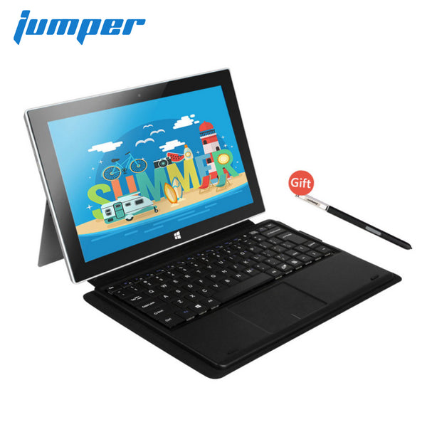 "Windows 10 tablet pc 10.6"" handwriting 2 in 1 tablet 1920x1080 IPS Intel Z8350 4GB 64GB windows tablet laptop Jumper EZpad 6 M4"