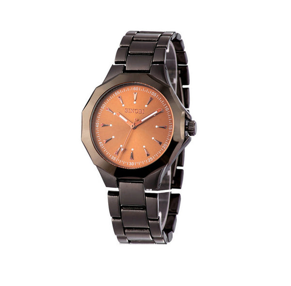 SINOBI Fashion All-steel Luxury Waterproof Men's Watches