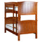 1020# Malaysian Oak Bed Frame (Bunk)  | King-Single | Light color