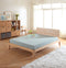 Dom# American Oak Bed Frame | King | Light color