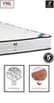 Coconut Fibreboard on Smaller Coil Extra Hard  Mattress | Model 2000H+F# | King size