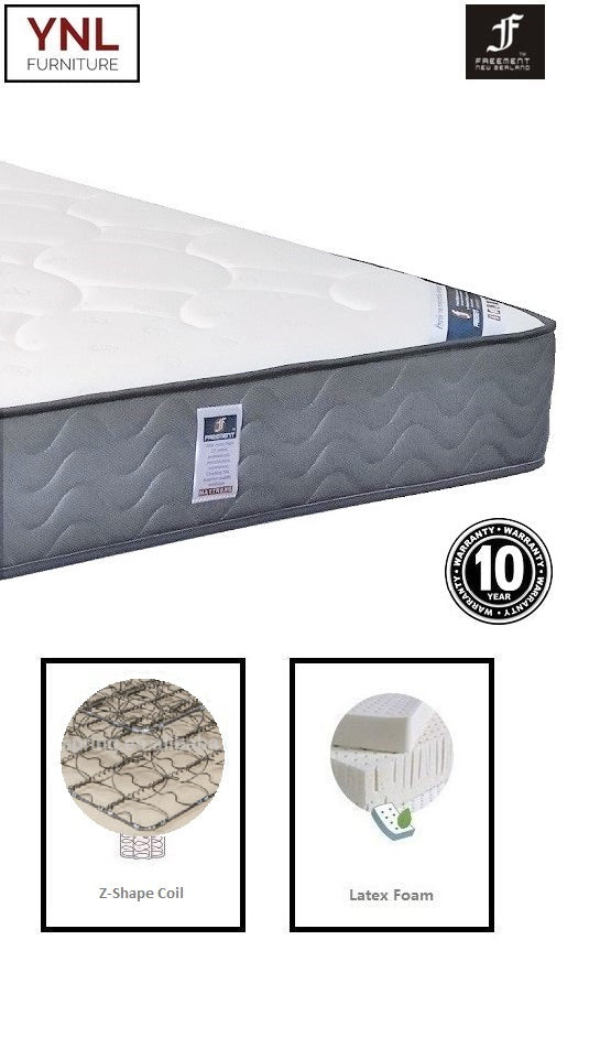 3cm Latex on Super firm Z-shaped spring Mattress | Model 2001H+L# | Queen size