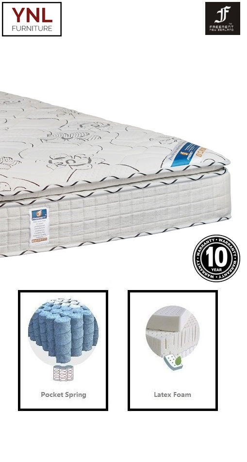 Absolutely Natural 7cm Latex on Pocket spring Mattress | Model 2003-7L# | Queen size | Previous Version