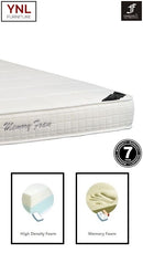 Tempuric 10cm Memory Foam on 10cm HD foam base Mattress | Model 2010M