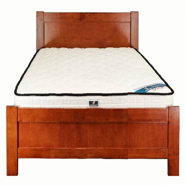 2012# Malaysian Oak Bed Frame | King-Single | Light color
