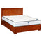 610S# Malaysian Oak Bed Frame (Lift-up Storage)  | Double | Light color