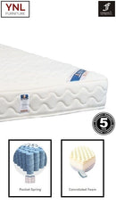 Modern Bread-Shape Firm Pocket spring Mattress | Model 2020H