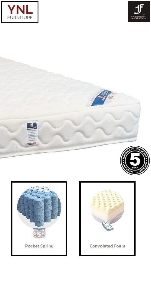 Modern Bread-Shape Firm Pocket spring Mattress | Model 2020H# | Super-King size