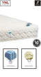 Subsidence 8cm Memory Foam Bread-Shape on Pocket spring Mattress | Model 2021M# | Super-King size