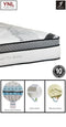 Exclusive Cloud Dual-Layer Pocket spring with Memory and Latex Foam Mattress | Model 2023L+M# | Super-King size