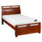 209# Malaysian Oak Bed Frame | King-Single | Light color