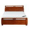 209# Malaysian Oak Bed Frame | Super-King | Light color