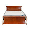 605B# Malaysian Oak Bed Frame | Double | Light color
