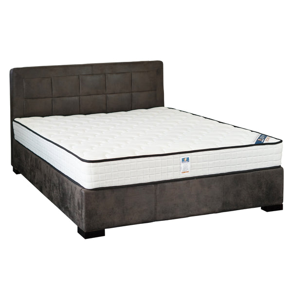 8016# Bed Frame | Double | Grey color