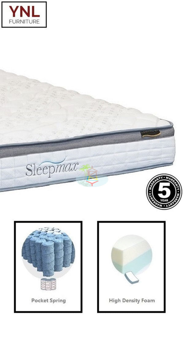 Pocket spring with 4cm Padding Mattress | Model E.Pkt# | King-Single size