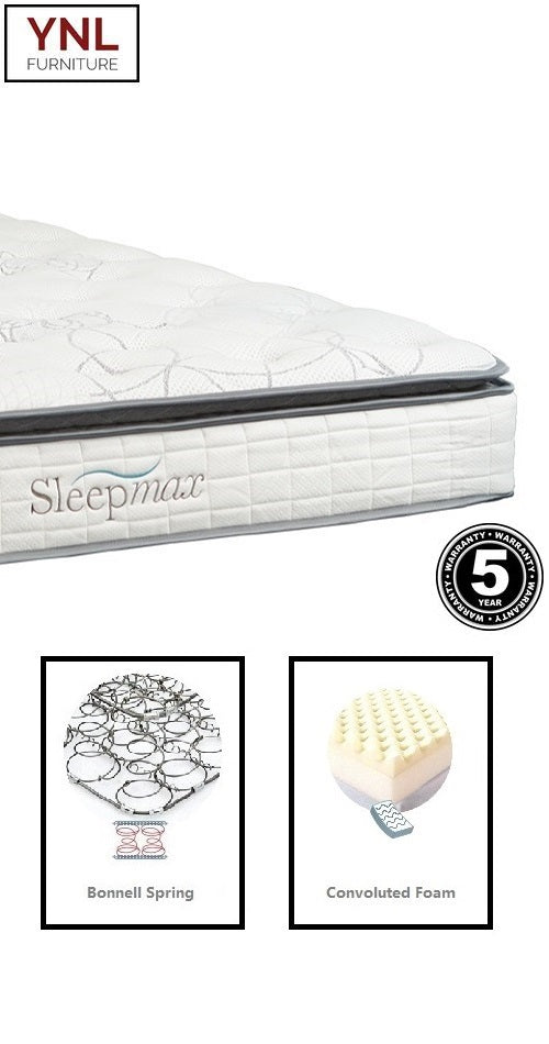 Comfy 5cm Pillow Top Mattress | Model E.Plw# | Double size